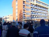 Demonstráció a körmendi kórházért - 2010. 02. 01.