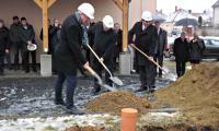 Oszkó, Szennyvízkezelési program alapkőletétel, 2015.01.30