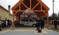 Olaszfa, Felújított Olaszfai Közösségi Ház, nyitott szín és falugondnoki busz átadása, 2015.03.15