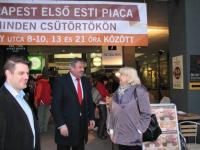 Látogatás az Esti Piac hungarikumai között, 2015.04.09.