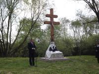 Csákánydoroszló, Kettőskereszt avatása az árvíz áldozatainak emlékére, 2015.04.26.