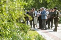 Jeli Arborétum, Ambrózy-Migazzi István kilátó átadása, 2015.05.05
