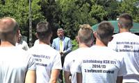 Rábahídvég, Kispályás utcabajnokság díjátadása, 2015.07.11