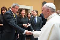 Róma, Ferenc Pápa audiencia 2015.szeptember 16