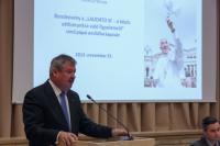 Budapest Konferencia az egyházak környezetvédelmi szerepéről 2015 november 25